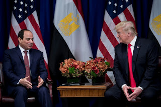 Trump plans to resume US military aid to Egypt