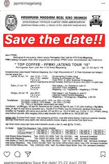 Rally PPMKI tgl 21-22 April 2018 di Magelang
