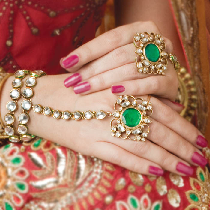 Life Style & Fashion: Indian Bridal Kundan Jewellery