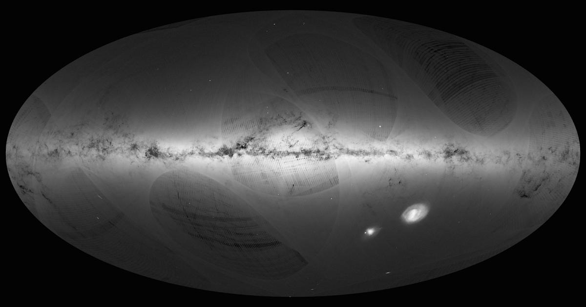 Gaia, pubblicato il 1° stupefacente catalogo della missione, di più di 1 miliardo di stelle della nostra Galassia, by ESA!