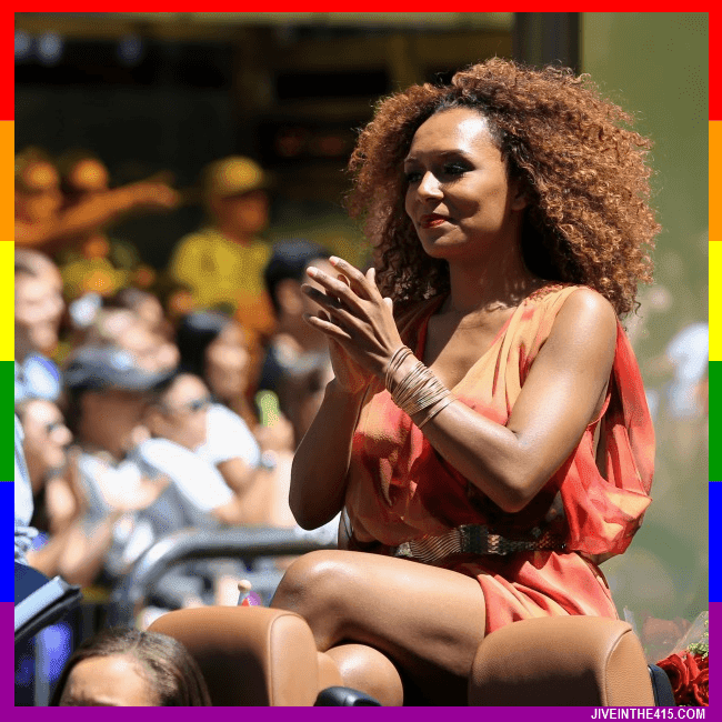 Gay Pride Parade Grand Marshal Janet Mock