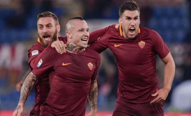 Gelandang tengah terbaik ada di Roma