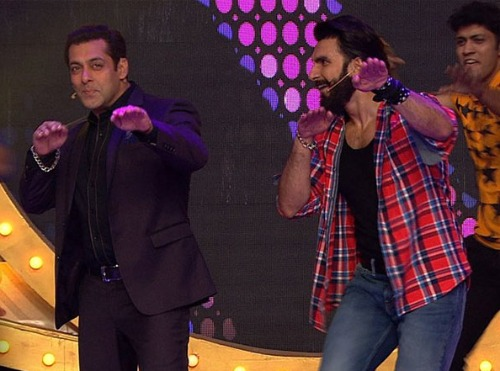 Ranveer Singh's and Salman Khan