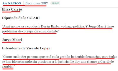 JUSTICIA, JORGE MACRI