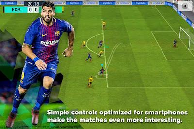 PES 2018 v2.10 MOD APK Terbaru (Pro Evolution Soccer)