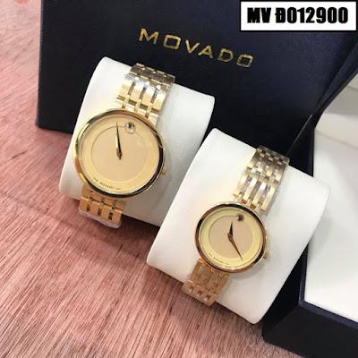Đồng hồ đeo tay cặp đôi Movado MV Đ012900