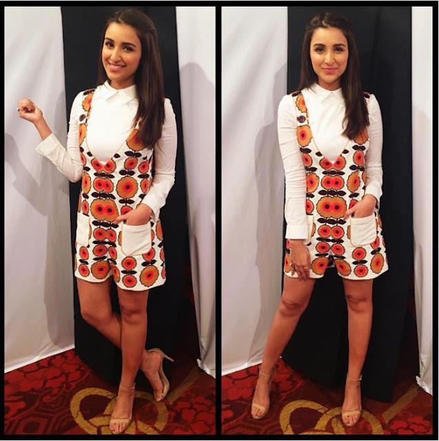 Parineeti chopra funky, chic look I fashion, style, beauty tips