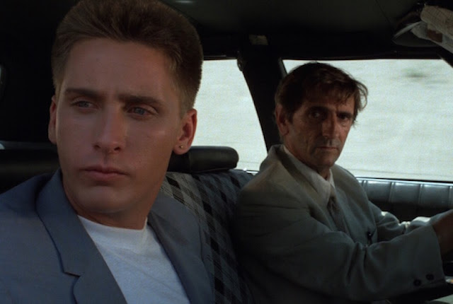 Emilio Estevez and Harry Dean Stanton, Repo Man