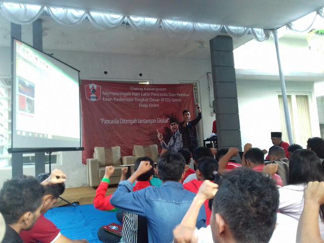 Peringati Hari Lahir Pancasila 1 juni; GMNI Fisip UNITRI Malang Gelar KTD & Seminar Pancasila