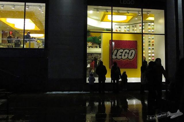 Lego Store, Nova Iorque