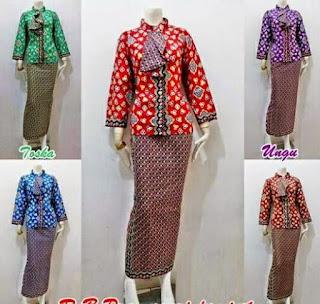 Model Baju Batik Setelan untuk pesta
