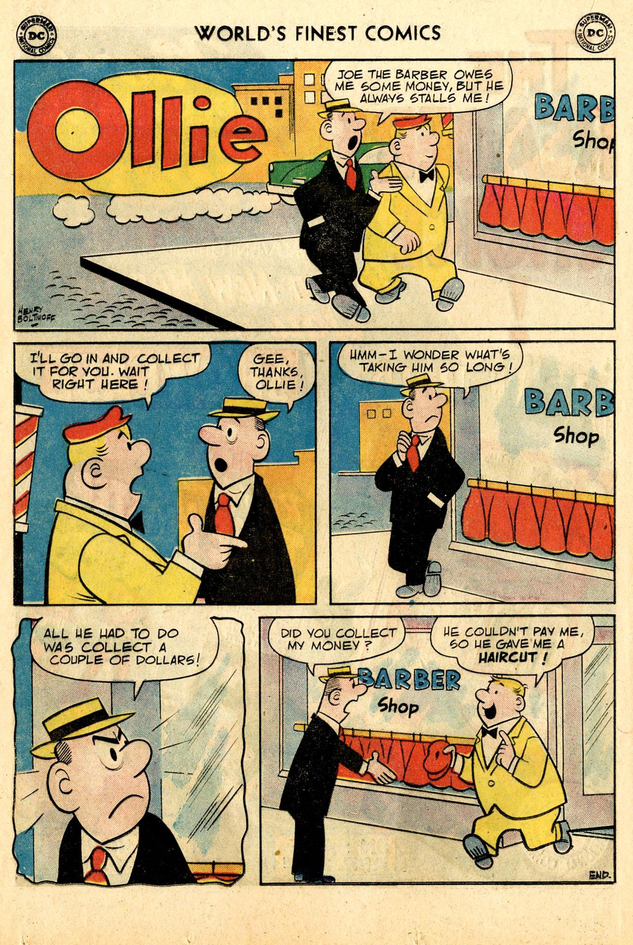 Read online World's Finest Comics comic -  Issue #110 - 16