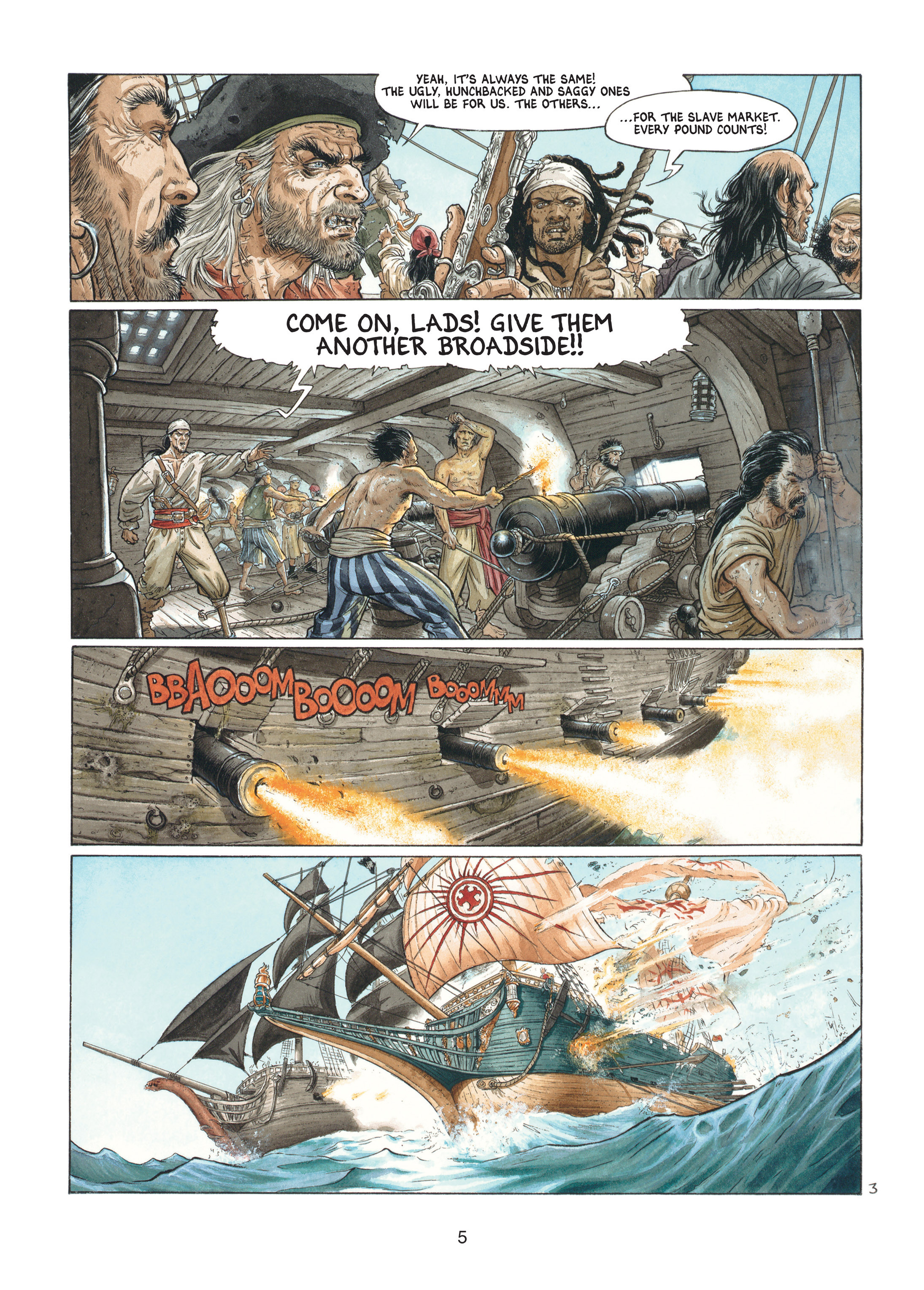 Read online Barracuda comic -  Issue #1 - 5