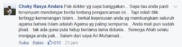 SAYEMBARA : Siapa Yang Dapat Memenggal Kepala Dr. Zakir Naik, Diberi Imbalan Rp. 10 Milyar. Lihat Komentar Para Netizen Ini.