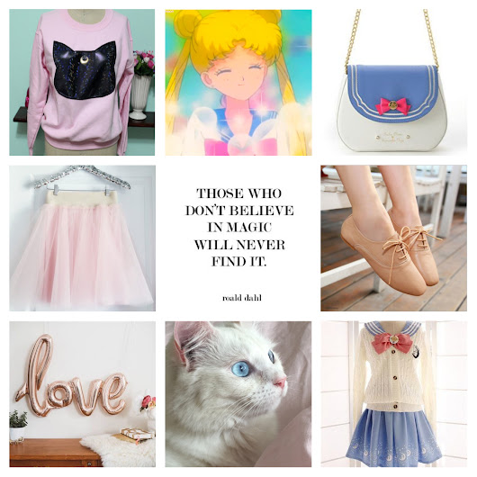 Louisa Phoebe: Things I Love This Week: Sailor Moon, Dinosaurs and Being A Grown Up.
