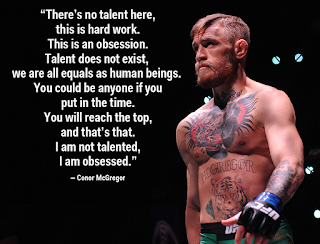 Conor McGregor's obsession