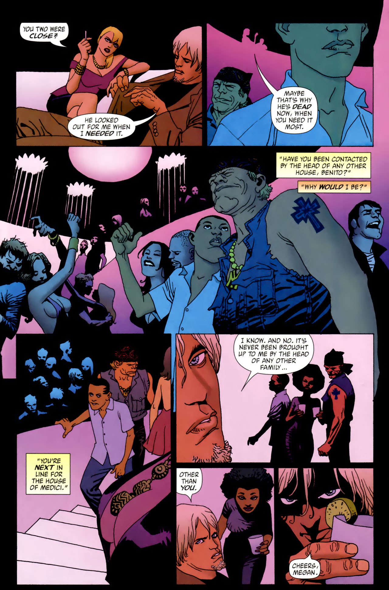 Read online 100 Bullets comic -  Issue #61 - 13