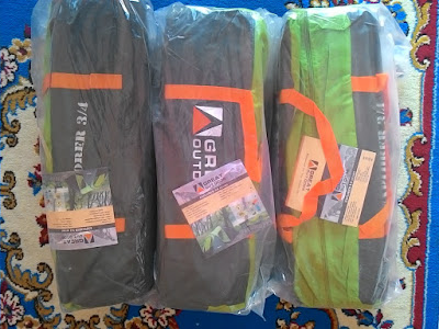 TENDA GREAT OUTDOOR EXPLORER 3/4 DISKON