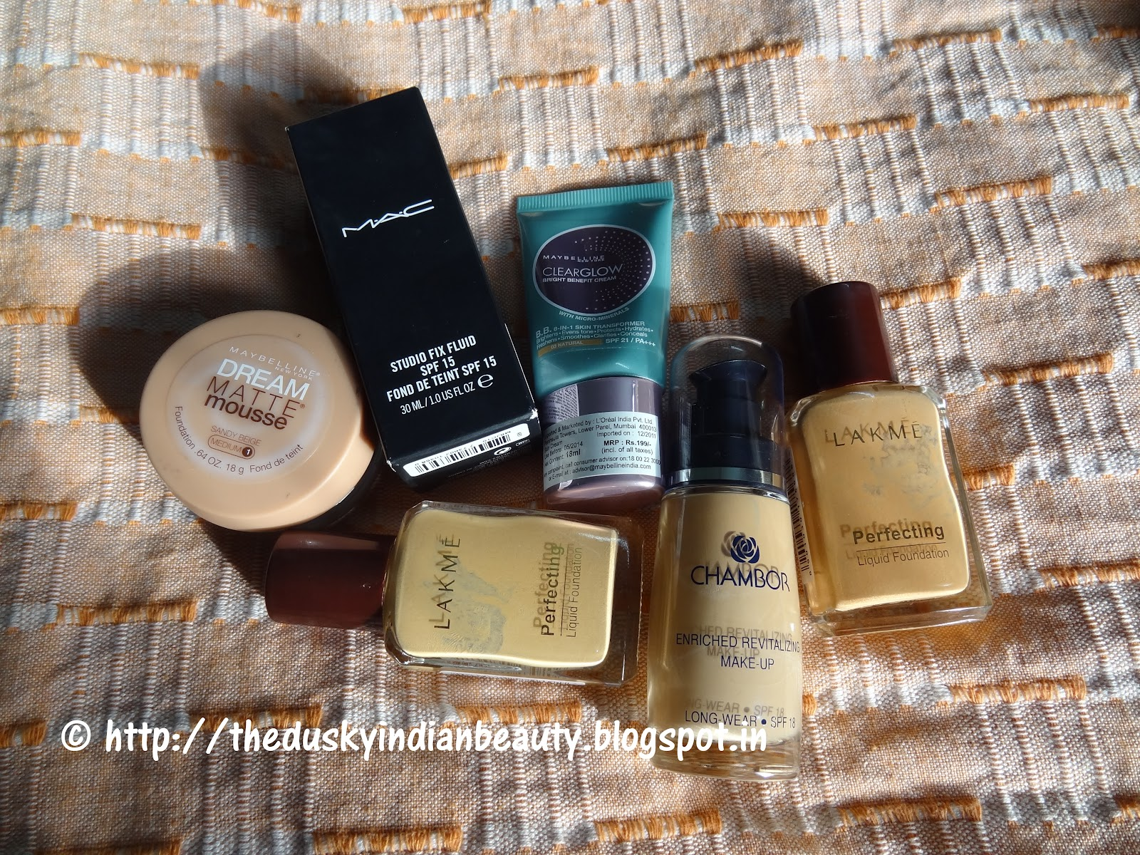 My journey with foundations!!! - The Indian Beauty Blog