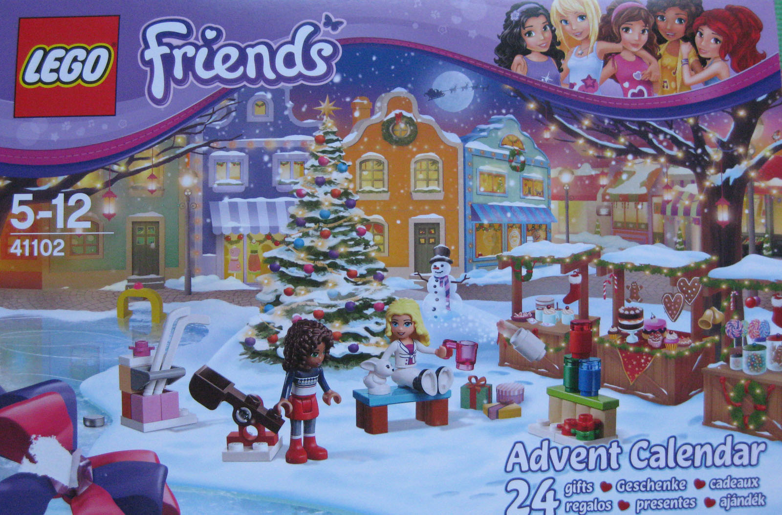 LEGO A1403856 Calendrier Avent Friends Amazon Jeux et