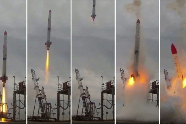 Tinuku Interstellar Technology's rocket failed seconds after taking off