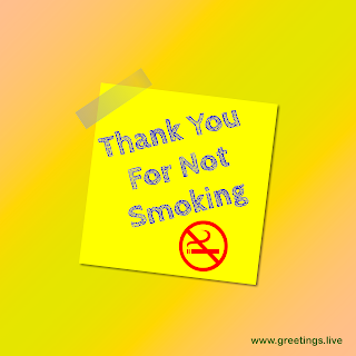 Thank you for not smoking Image