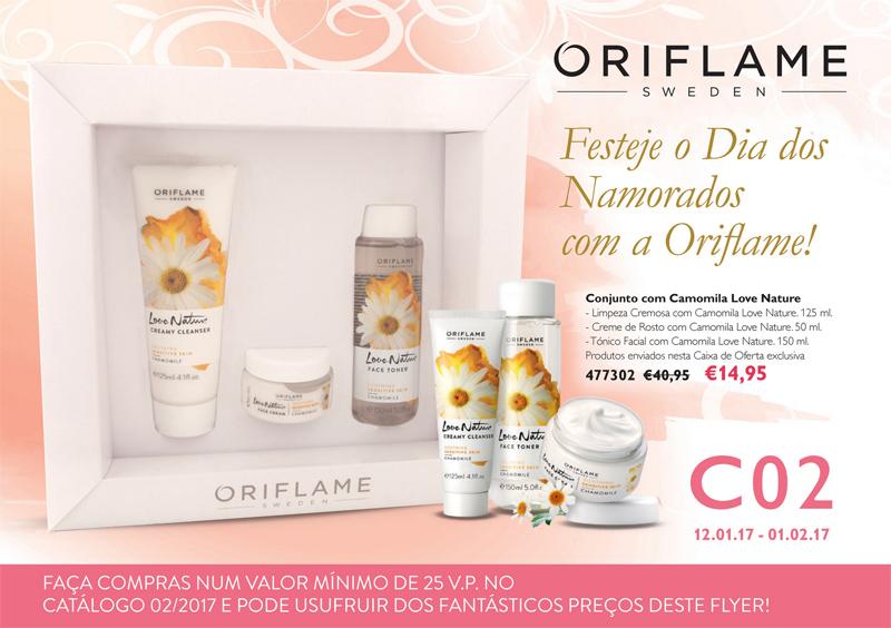 Flyer do Catálogo 02 de 2017 da Oriflame