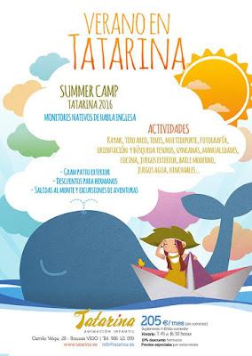 Campamento de Verano en Vigo - TATARINA