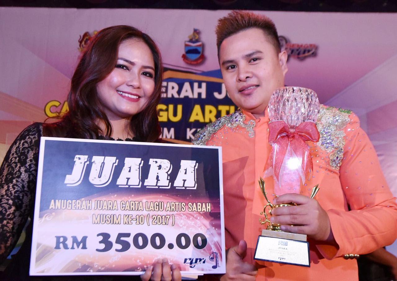Nur Fazz Juara Lagu Anugerah Juara CLAS Musim Ke-10 2017