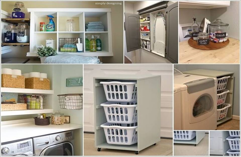 10 practical diy projects for laundry room