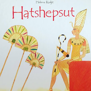 hatshepsut, egipto, helena Kraljic, peter skerl, que estas leyendo, yo leo, lee libros, album ilustrado,