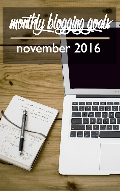 Monthly Blog Goals: November 2016 | CosmosMariners.com