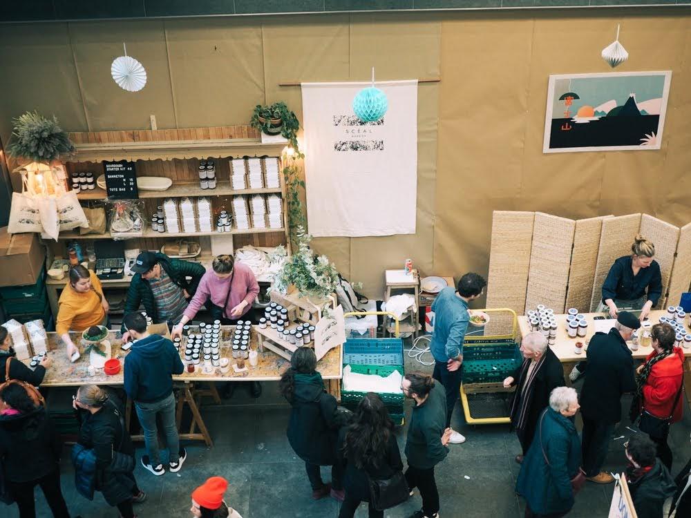 dublin flea christmas market 2018