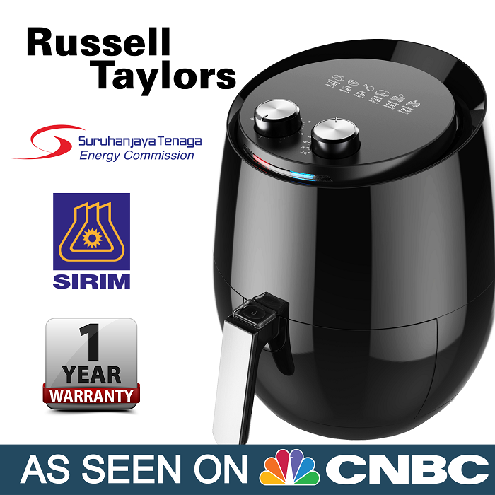 Russell Taylors Air Fryer My Honest Review Tekkaus Lifestyle Gadget Food Travel