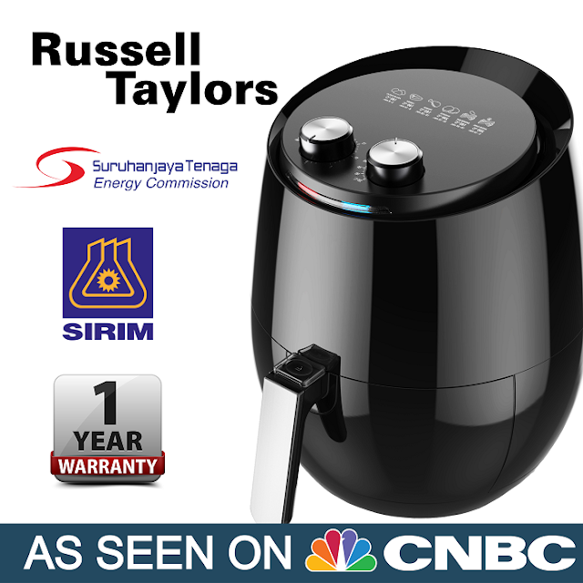 Russell Taylors Air Fryer AF-34 XlL 4.8L