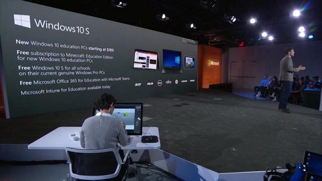 Microsoft memperkenalkan Windows 10 S