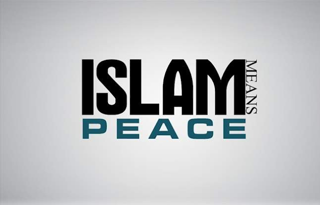 Islam means Peace