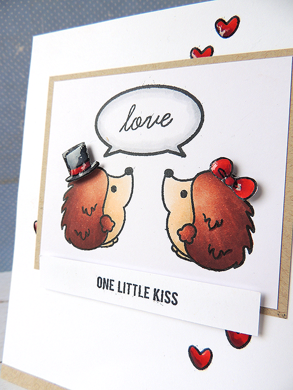 Sweet Stamp Shop - Hedgehogs Kiss