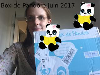 Box de Pandore juin 2017