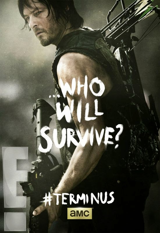 "Poster de Daryl para el final de la cuarta temporada  ""The Walking Dead"""