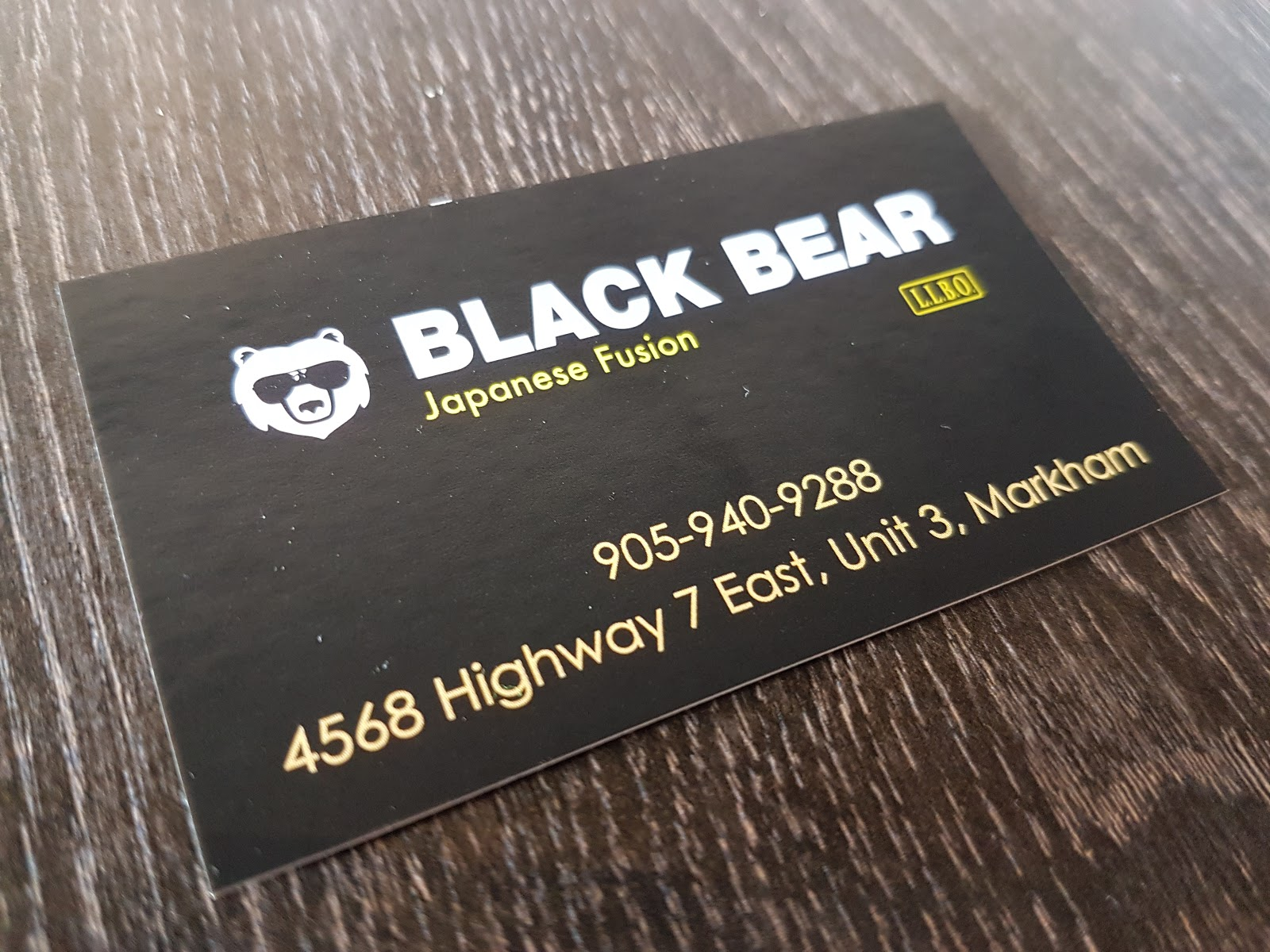 Lunch at Black Bear Japanese Fusion (Markham, Ontario) - Eating With ...