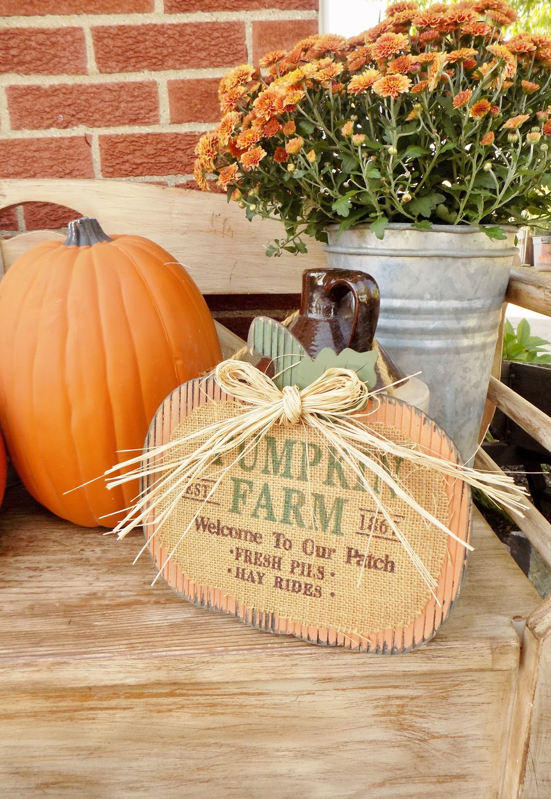 The Quaint Sanctuary Our Fall Harvest Inspired Porch