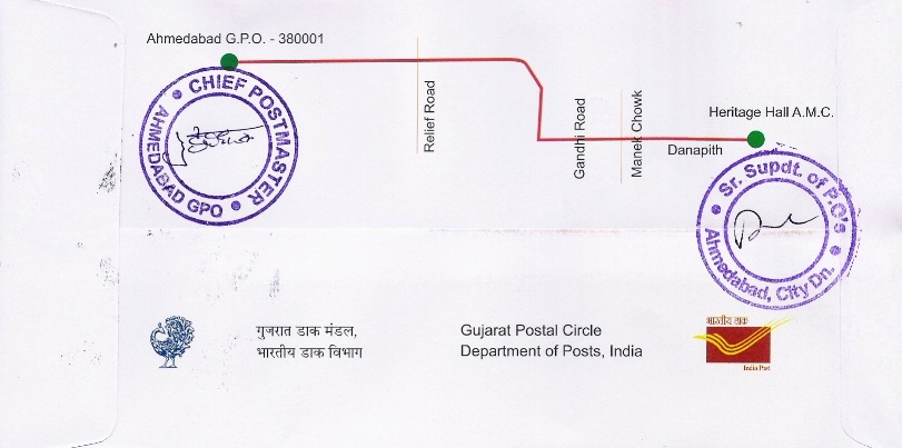 Se Tenant Stamps Of India Special Covers Ampex 2013