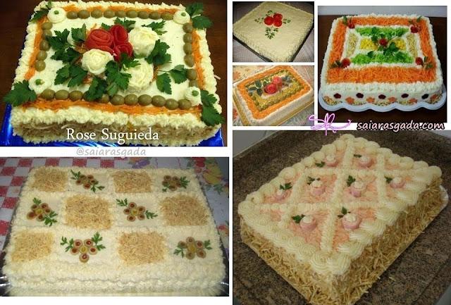 festa aniversario torta salgada salgado bolo decora decorar decoração enfeite mulher feminino adulto infantil casamento debutante batizado cha flor rosa elegante