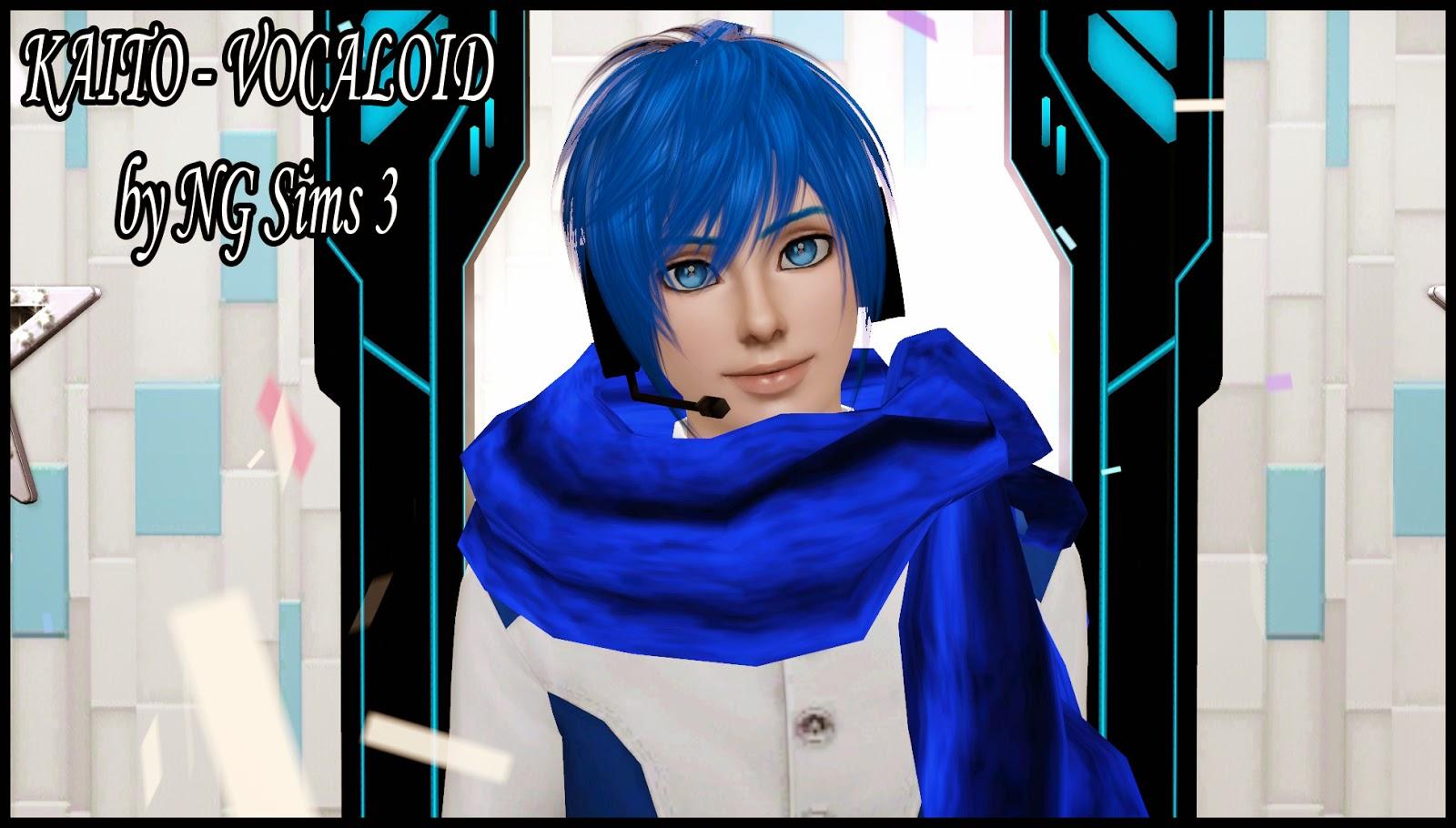 Ng Sims 3 Kaito Vocaloid Sims
