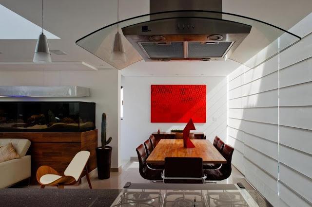 แบบห้องรัวในบ้านทาวน์โฮม