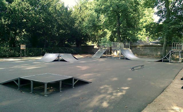 Skatepark Olivet Poutyl