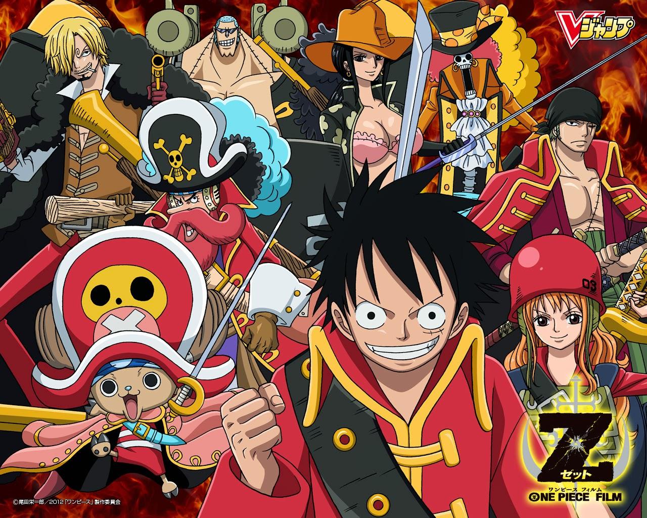 افلام انمي فيلم One Piece Z