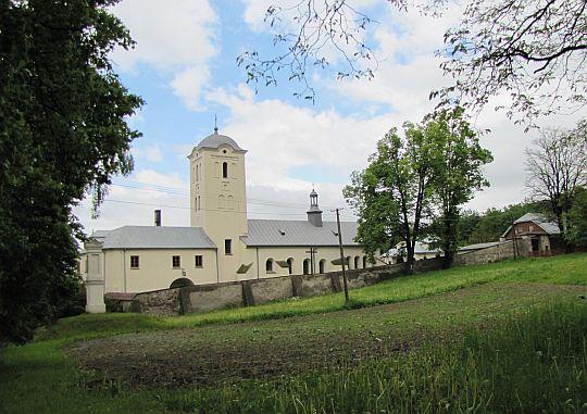 Kościół i klasztor ss. Bernardynek w Świętej Katarzynie.