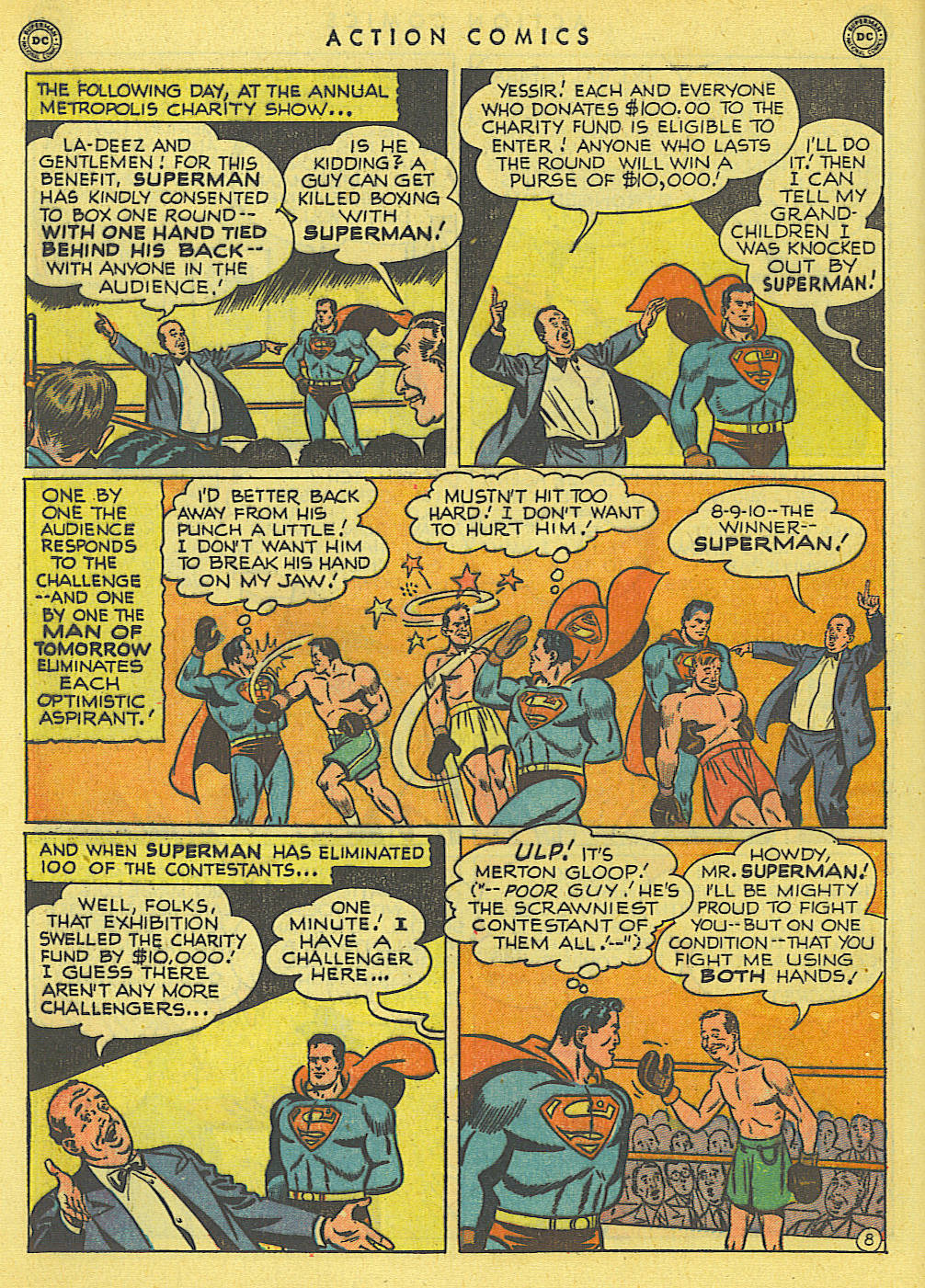 Read online Action Comics (1938) comic -  Issue #145 - 9